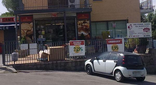 Supermercado en la urbanizacion
