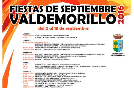 Fiestas Valdemorillo 2016