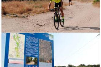 Obras de mejora en el camino que une Valdemorillo y el polideportivo