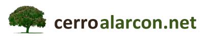 Logo de la página web Cerro Alarcón