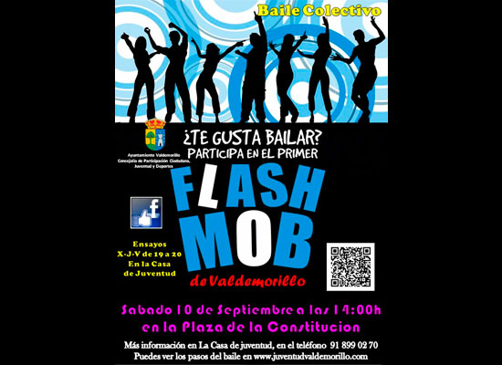 Flashmob de Valdemorillo 10 de septiembre