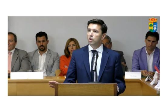 Santiago Villena nuevo Alcalde de Valdemorillo